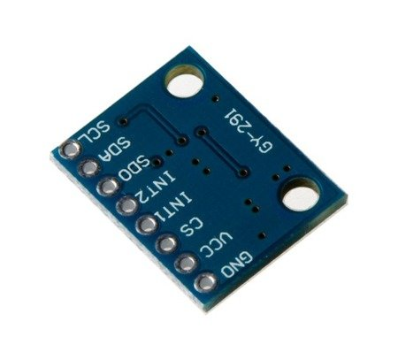 Akcelerometr 3-osiowy GY-291 na ADXL345 - miernik przyspieszenia
