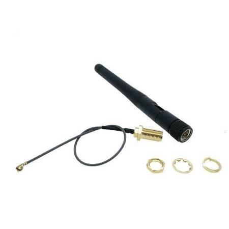 Antena 110mm 2,4GHz 2,5 dBi - wtyk SMA plug - do nadajników RC+ antena wzmocnienia 3dBI