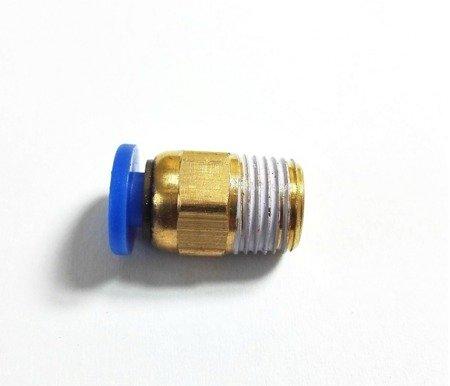 Bowden złącze - końcówka pneumatyczna PC4-M10 - 4mm - Drukarka 3D
