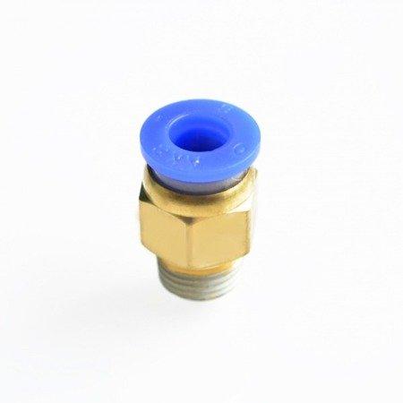 Bowden złącze - końcówka pneumatyczna PC6-M10*1 - 6mm - Drukarka 3D