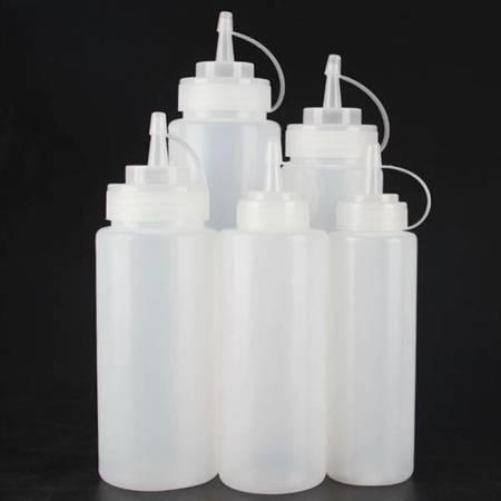 Butelka PE/PP 240ml - z kapturkiem - do dozowania płynów