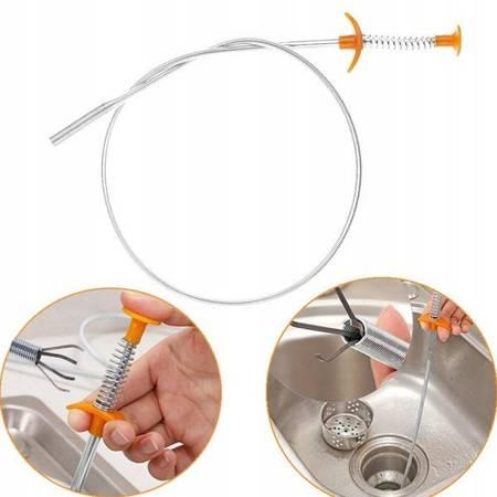 Chwytak elastyczny sprężynowy - 60cm - chwytak pazurkowy do wyciągania
