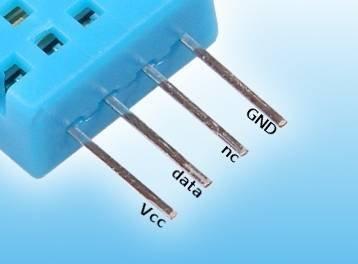 Czujnik DHT11 pomiar temperatury i wilgotności 1-wire do Arduino