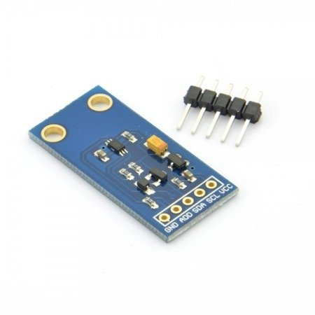 Czujnik natężenia światła GY-30 - BH1750 - wyjście I2C - Arduino