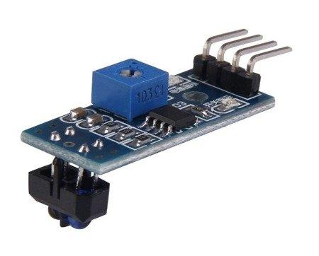 Czujnik odbiciowy TCRT5000 z komparatorem do Arduino