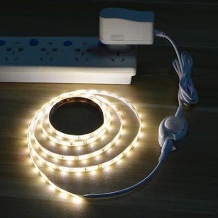 Czujnik ruchu na podczerwień PIR 5-24V - do taśm LED - Timer 30s-10min
