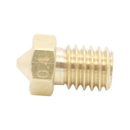 Dysza 0,2mm M6 - Filament 3mm - H12.5mm - mały stożek - RepRap E3D V5 V6