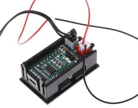 Elektroniczny Termometr - 12V -50°C do 110°C - wodoodporny czujnik - zielony LED