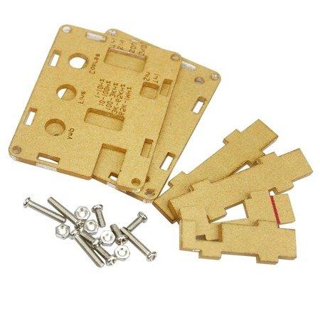 Generator funkcyjny XR2206  - 1Hz do 1MHz -  do samodzielnego złożenia DIY