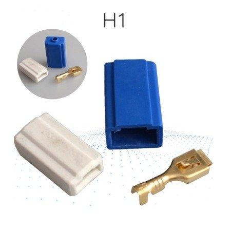 Gniazdo ceramiczne - złącze żarówki H1 - kostka samochodowa - DIY
