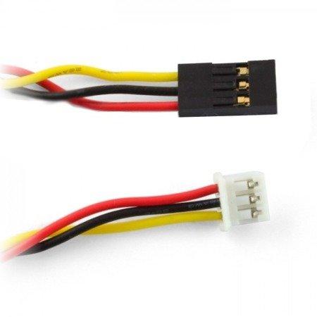 Kabel żeński 3 PIN 2.54mm - Micro-JST 3PIN 2.0mm - 30cm