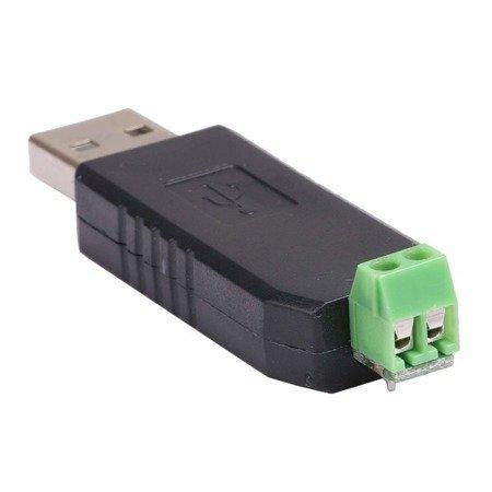 Konwerter USB - RS485 -  Adapter/ Przejściówka na CH340