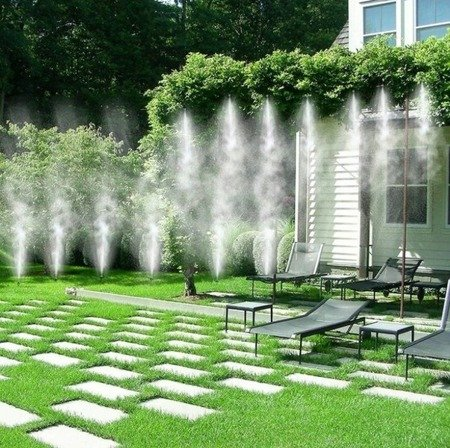 Kurtyna wodna 10m - mgiełka do schładzania - klimatyzacja