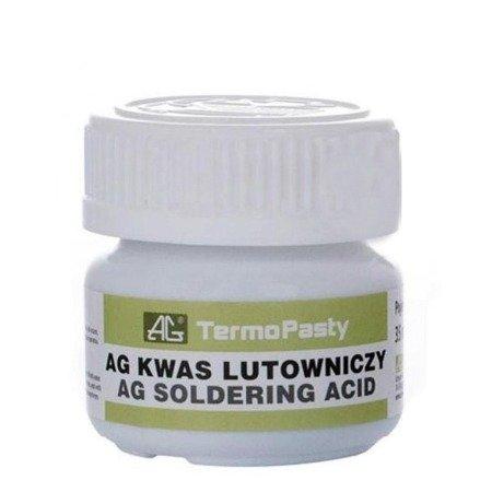 Kwas Lutowniczy do lutowania 35ml - AG Termopasty