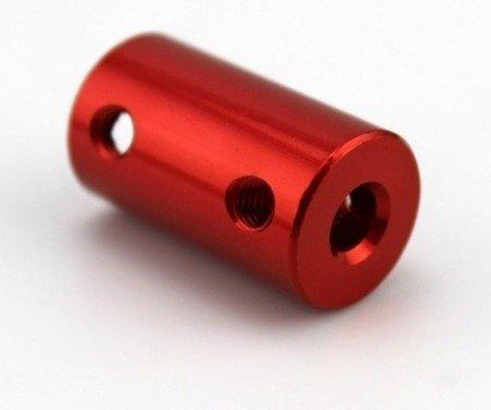 Łącznik osi - adapter z 2mm na 5mm - na wał silnika - oś