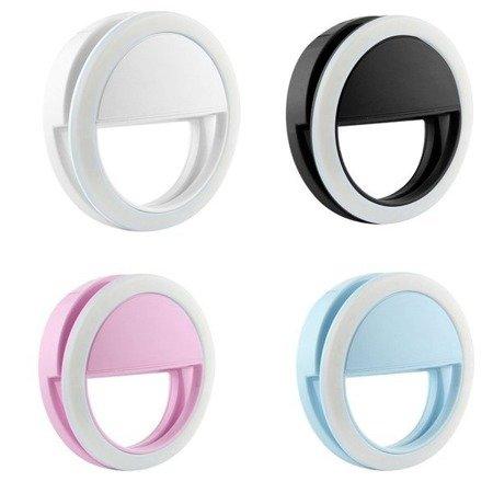 Lampa Selfie pierścieniowa do telefonu - 3W - Mini LED Ring