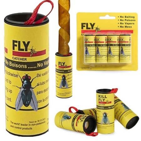 Lep na muchy - Taśma lepowa - 4 szt - Pułapka na owady