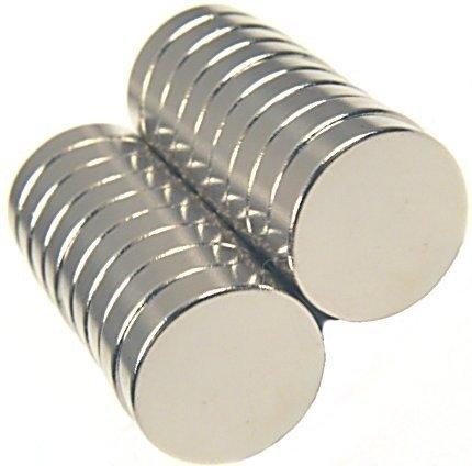 Magnes 15x3mm walcowy N35 - neodymowy