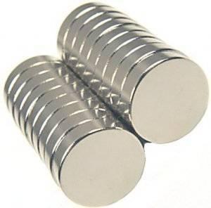 Magnes 4x4mm walcowy N35-N52 - magnes neodymowy