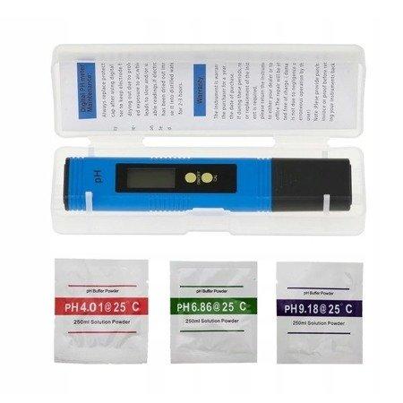 Miernik PH wody - PH02 - Kwasomierz z auto-kalibracją
