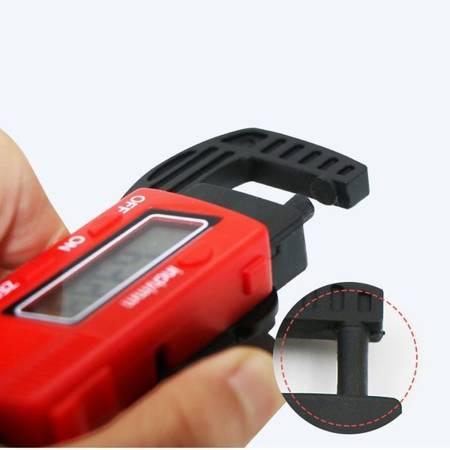 Miernik grubości 0-12mm - Grubościomierz cyfrowy - Suwmiarka