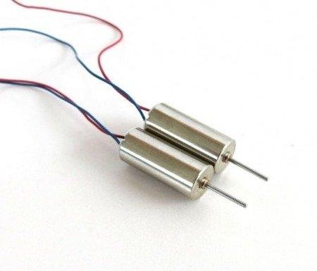 Mikro silnik szczotkowy 716 - 3,7V - CW - 50.000 RPM - oś 8mm - 7x16mm