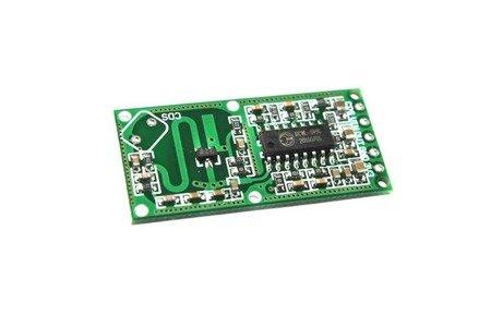 Mikrofalowy sensor ruchu - 4-28V - RCWL-0516 - Czujnik  Arduino