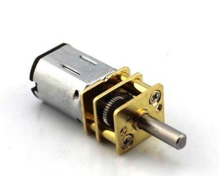 Mini silnik szczotkowy GA12-N20 - 300RPM - 3-6V z przekładnią