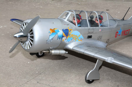Model YAK 52 (91) 1610mm - ARF - model konstrukcji drewnianej - SEA119 #3