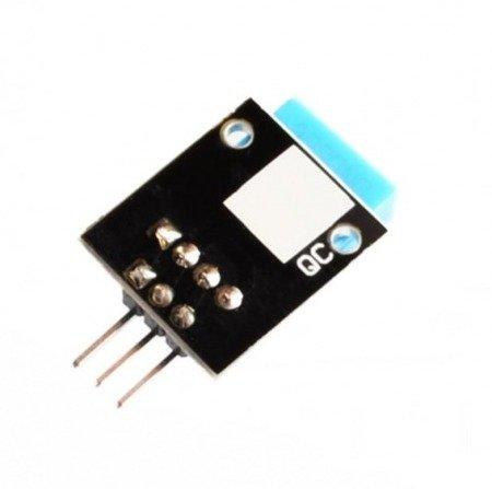 Moduł DHT11 - Czujnik temperatury i wilgotności - Arduino - KEYES KY-015