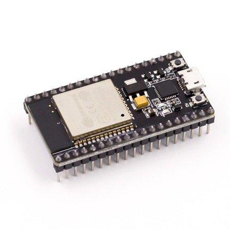 Moduł ESP-32 WiFi + Bletooth 2,4 GHz Dual Mode - ESP-WROOM-32 - Arduino