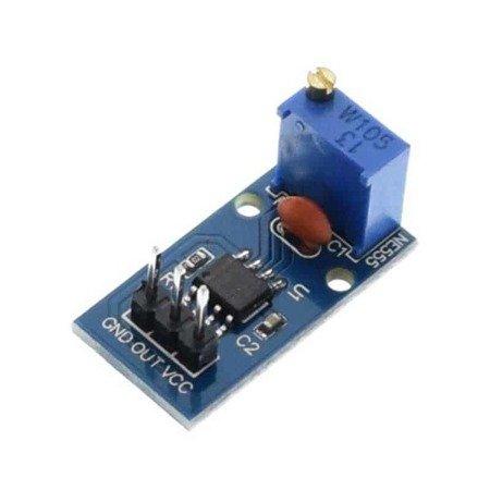 Moduł Generatora NE555 - maks 1,2Hz - wypełnienie 50%