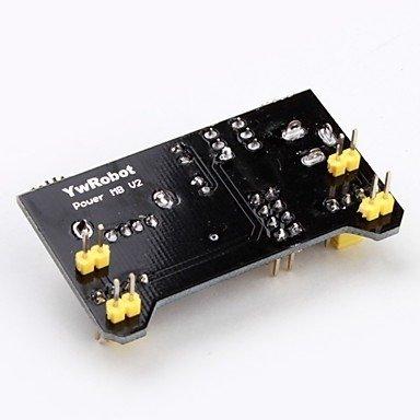 Moduł MB102 V2 do zasilania płytek stykowych 5V/ 3.3V - USB LED - Arduino