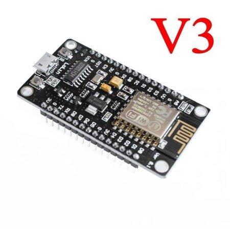 Moduł WIFI ESP8266 NodeMcu V3 - CH340 - Arduino ESP12E