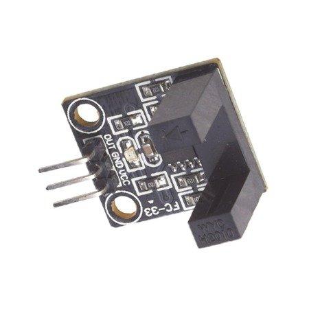 Moduł czujnik szczelinowy, enkoder, transoptor 10mm detektor - komparator LM393