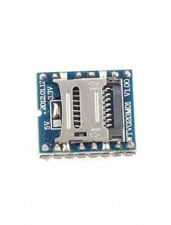Moduł odtwarzacz dźwięku MP3 - WTV020-SD Arduino