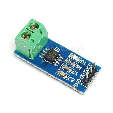 Moduł pomiaru prądu ACS712 - 5A - czujnik / sensor prądu - ARDUINO