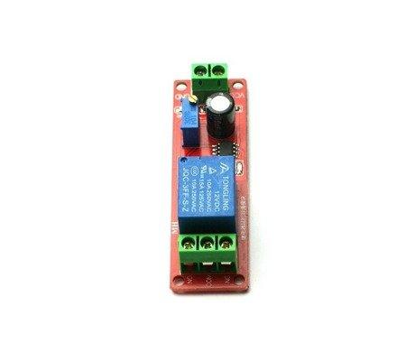 Moduł przekaźnika z układem czasowym - 0-10 sekund - styki 10A/250V AC, lub 10A/30V DC