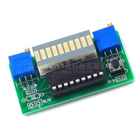 Moduł wskaźnika LED - DIY - skala 10 x LED - 2.4-20V - sterownik LM3914