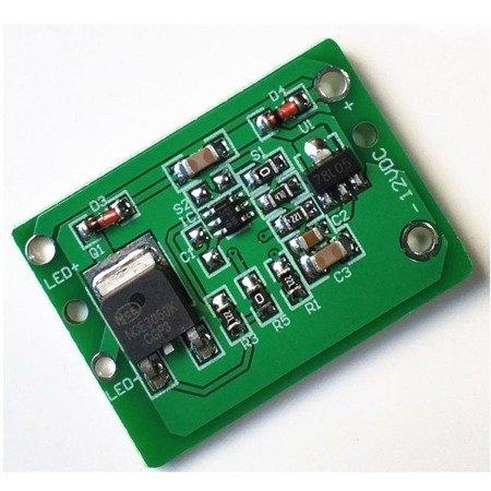 Moduł wyłącznika dotykowego LED 12V - TTP223 - Czujnik dotykowy