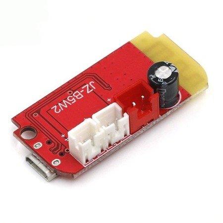 Moduł wzmacniacz audio 2x5W JZ-B5W2 - z bluetooth 4.2 - DWCT14