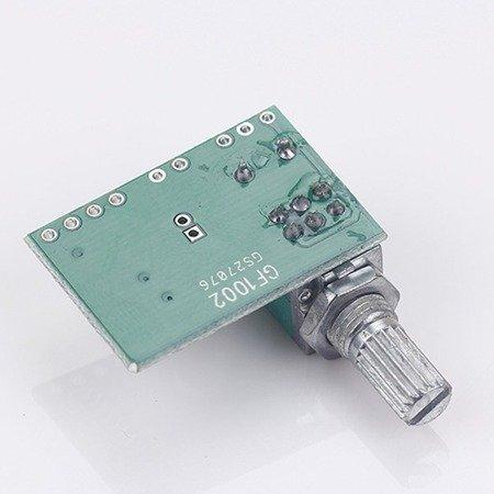 Moduł wzmacniacz audio PAM8403 2x3W - potencjometr