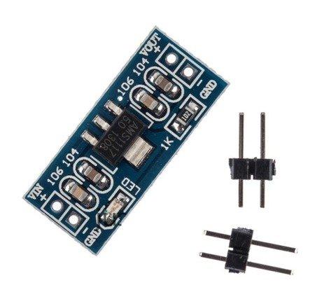 Moduł zasilania AMS1117 - 3,3V 800mA - Arduino