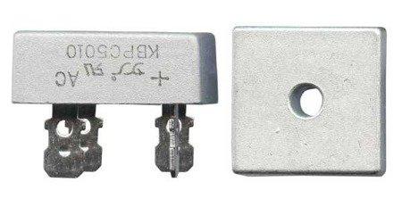 Mostek prostowniczy 50A 1000V - prostownik KBPC5010