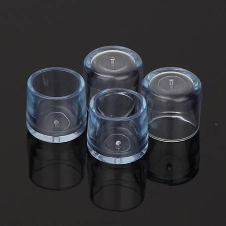 Nakładki ochronne na nogi meblowe - okrągłe 30mm - 4 szt - Osłona silikonowa na nóżki
