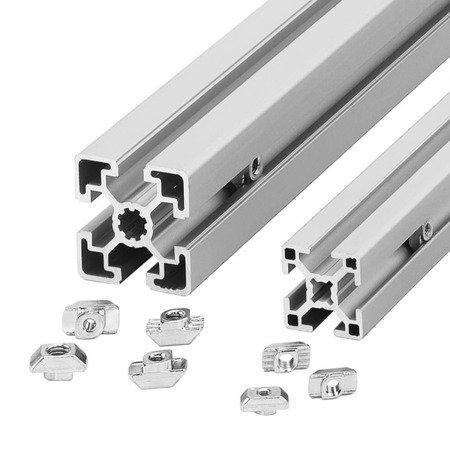 Nakrętka młoteczkowa - wpust - T M4 do profili aluminiowych 2020 - 10 szt. - TSLOT, T-NUT, TNUT