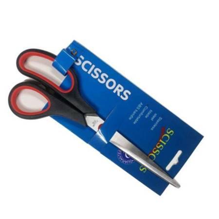 """Nożyczki biurowe - krawieckie 7.5"""" - SCISSORS - gumowana rączka"""