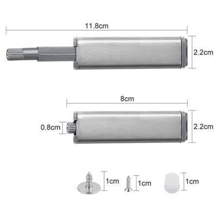 Odbojnik Tip-On - 80mm - Amortyzator do szafki szafy - Push to Open