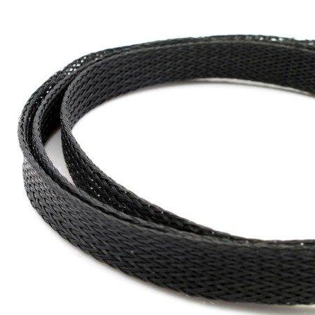 Oplot na przewody 20mm/33mm - Oplot poliestrowy/ Plecionka - black - 1mb