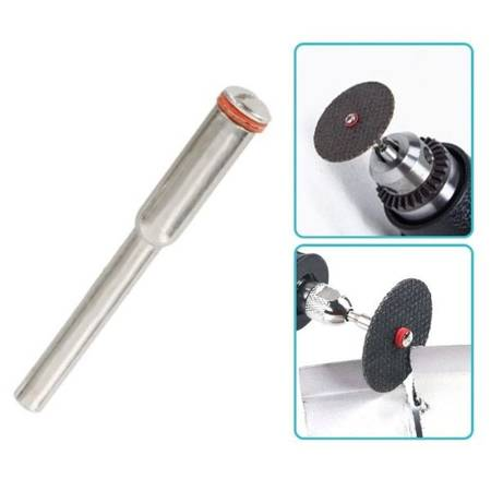 Ośka do piły tarczowej 2.35 mm - trzpień mocujący tarczę 2mm - Dremel, szlifierka